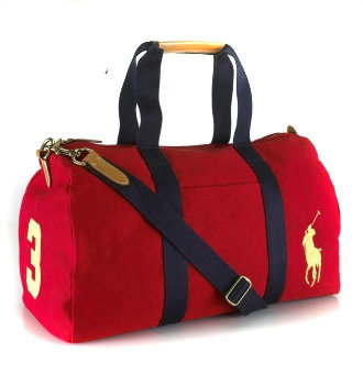 polo ralph lauren bag le fourre-tout mode red